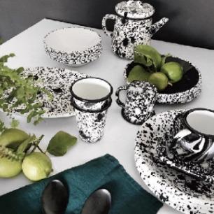 黑白泼墨系列手工制品 | 来自土耳其的工艺