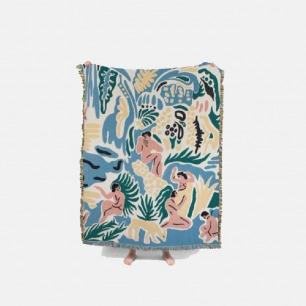 KIMBIE毛毯 | 将创造的灵感融入家居单品