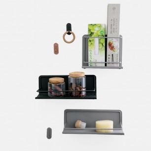 厨房磁性收纳置物架 | 实用加设计,不易脱落