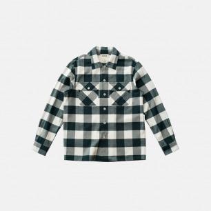 重磅法兰绒格子衬衫 | 原创设计,优质精梳棉