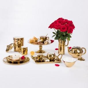 意大利金手指系列茶具 | 维多利亚时代的精致下午茶