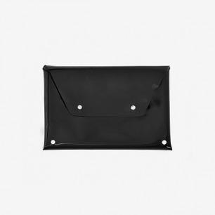 黑色半透明塑胶信封包