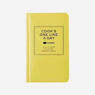 记录做菜的每一天Cook's One Line a Day Journal