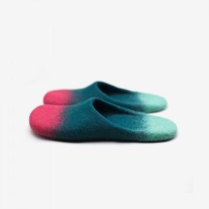 手工羊毛拖鞋
