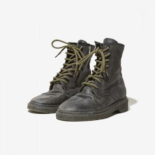 Golden Goose 做旧系带短靴