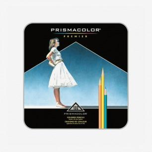 美国三福霹雳马Prismacolor彩铅粗芯粉质软芯彩铅132色