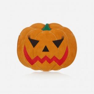 CHARLOTTE OLYMPIA Boo! Pumpkin 绒面革手拿包