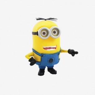 小黄人黄豆豆 公仔玩具模型搪胶手办玩偶