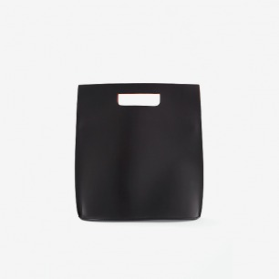 COS CONTRAST LEATHER BAG