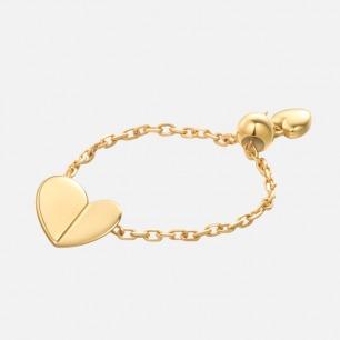 开心系列折纸爱心戒指 | 留住心叶藤的恬静与温馨