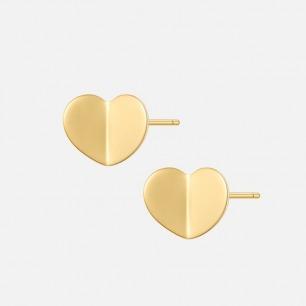 开心系列折纸爱心耳钉 | 不俗的桃心设计