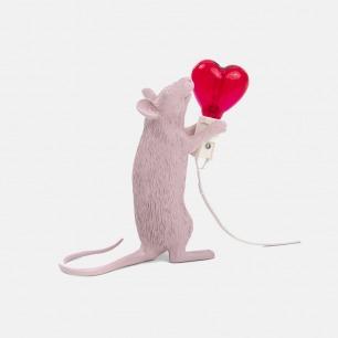 情人节限量款爱心老鼠灯 | 粉红桃心帮你表白