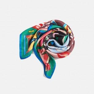 泰国艺术丝巾  | 戴起来一定会很有趣吧