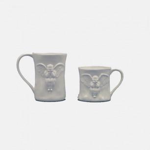 情侣骨瓷杯 | 24k金喷制,高贵华美