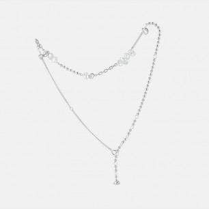 异形珍珠拼接锁骨链 | 精选天然异形珍珠手工镶嵌