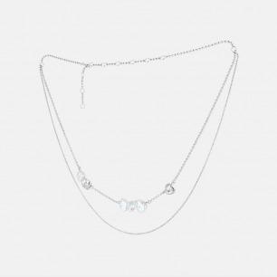 异形珍珠双层套链 | 精选天然异形珍珠手工镶嵌