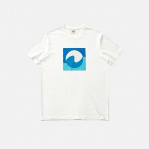 印花浪涤世界-短袖T恤 | 选用21支纱精梳棉