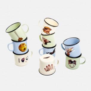 复古搪瓷水杯马克杯 | TOILETPAPER系列