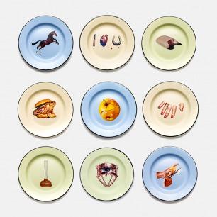 复古搪瓷餐盘 | TOILETPAPER系列