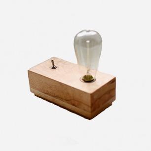DOOK STUDIO 创意实木 复古小台灯 vintage 怀旧