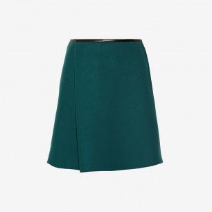 3.1 PHILLIP LIM 氯丁橡胶粘合混纺羊毛毡宽下摆半身裙