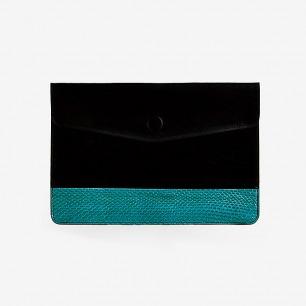 MATCHBOX ipad-mini真牛皮蛇皮包