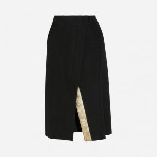 Jil Sander 羊毛半身裙