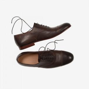 MARGARET HOWELL系带皮鞋