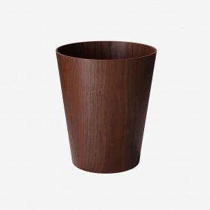 SAITO WOOD Molded Plywood 胡桃木纹 废纸篓