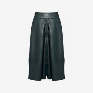 YANG LI WOMEN'S LEATHER CULOTTES