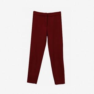 【青集站】独立设计师款羊毛羊绒毛呢混纺修身长裤13w-13