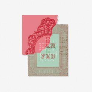 """2014艺术年历- 广煜设计 - 北京当代艺术基金会""""中国盒子""""系列"""