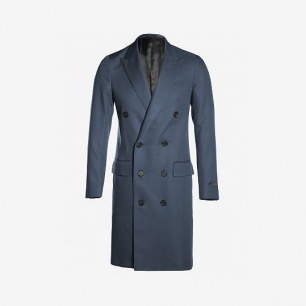 LANVIN MEN'S DOUBLE BREASTED COAT