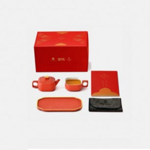 四合如意私享茶器 | 故宫宫廷IP,美观大气时尚