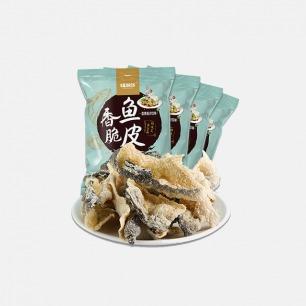 沙拉味香脆鱼皮 | 港式香脆鱼皮,让人相见恨晚