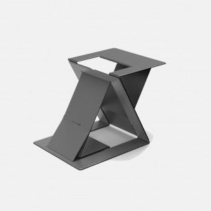 多角度笔记本电脑支架 | 轻薄隐形,便携易收纳