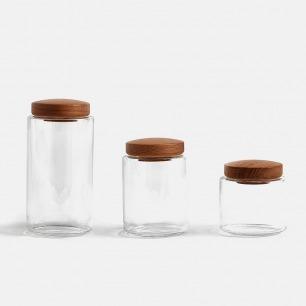 密封玻璃储物罐 | 满足不同食材的收纳需求
