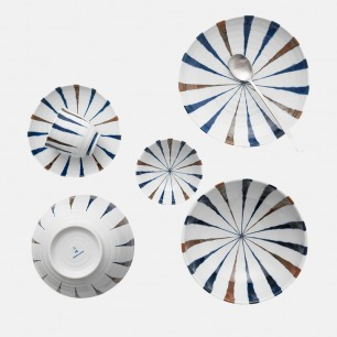 蓝十草三角套装 | 日本原装进口 铀下彩
