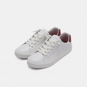 775款超纤低帮懒人小白鞋 | 免系带+防泼水