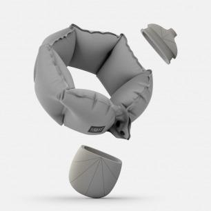 充气颈枕   小巧充气快捷卫生只需10秒