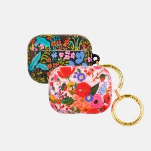 花园派对耳机保护套 | 插画联名,尽显女性魅力