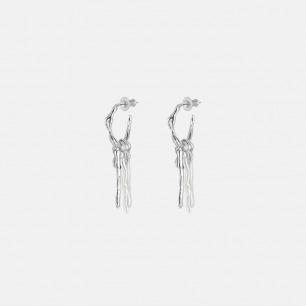 异形牙签珍珠耳环 | 精选天然异形珍珠手工镶嵌