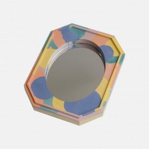 手工镜面置物盘 | 艺术花纹手工盘