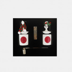 圣诞限定节日礼盒 | 有故事的艺术香薰蜡烛
