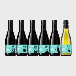 女神小酒6瓶套装 | 小瓶微醺 打包法式浪漫