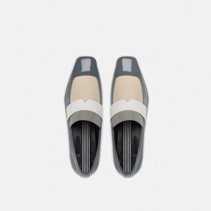 平跟孟菲斯乐福鞋   复古元素百搭现代穿着
