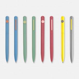 北欧简约中性小豆笔 | 纯色喷漆 美感与舒适兼顾