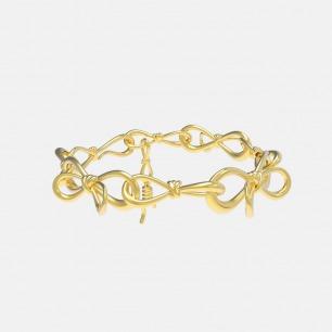 蝴蝶结金属手链 | 金色简约优雅银色甜酷百搭