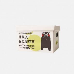 熊本熊联名冷泡茶 | 可以吸着喝的冷泡茶