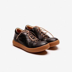 KINKLE WORKSHOP 低帮皮质运动鞋